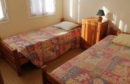 6 chambres de 2 lits sur le gîte