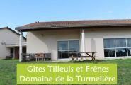 salles et disposition identique dans les gîtes Tilleuls et Frênes